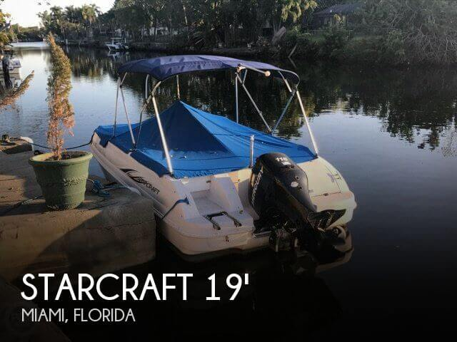 Used Deck Boats For Sale by owner | 2006 Starcraft 19