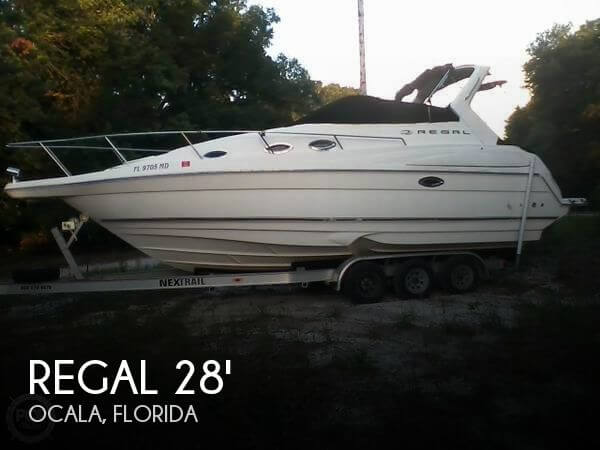 Used Regal Boats For Sale in Florida by owner | 2003 Regal 2860