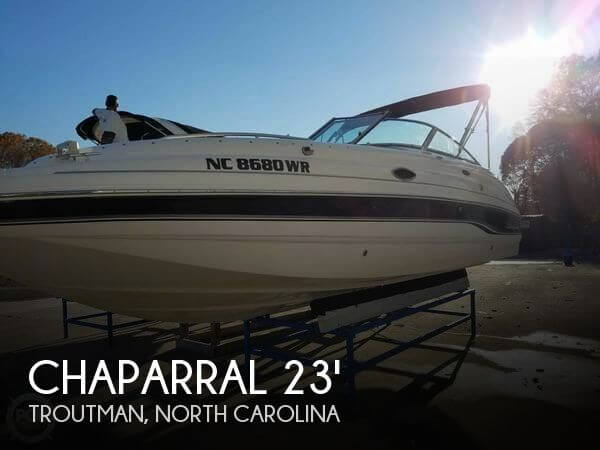 Used Deck Boats For Sale by owner | 2001 Chaparral 23