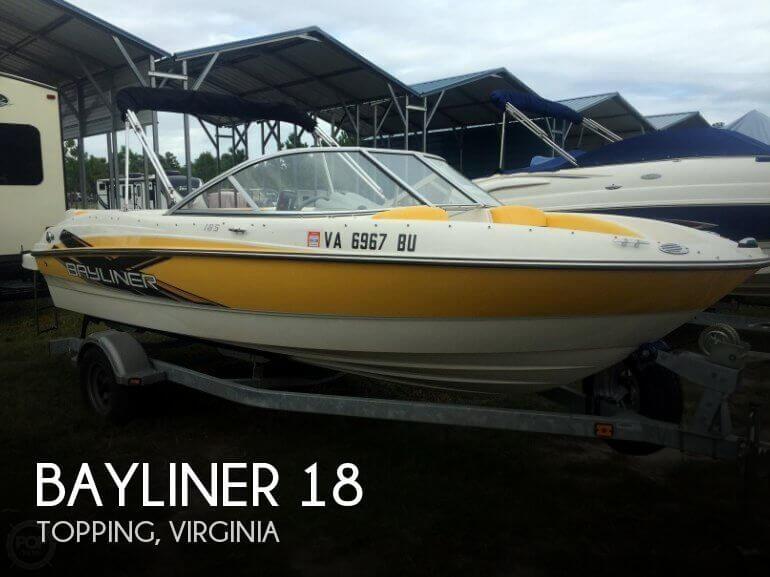 Used Bayliner 18 Boats For Sale by owner | 2013 Bayliner 18