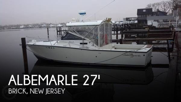 Used Albemarle Boats For Sale by owner   1987 Albemarle 28