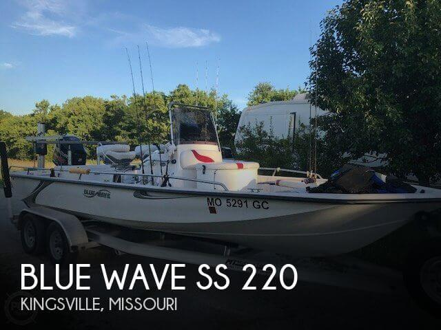 Used Boats For Sale in Kansas City, Missouri by owner | 2014 Blue Wave 22