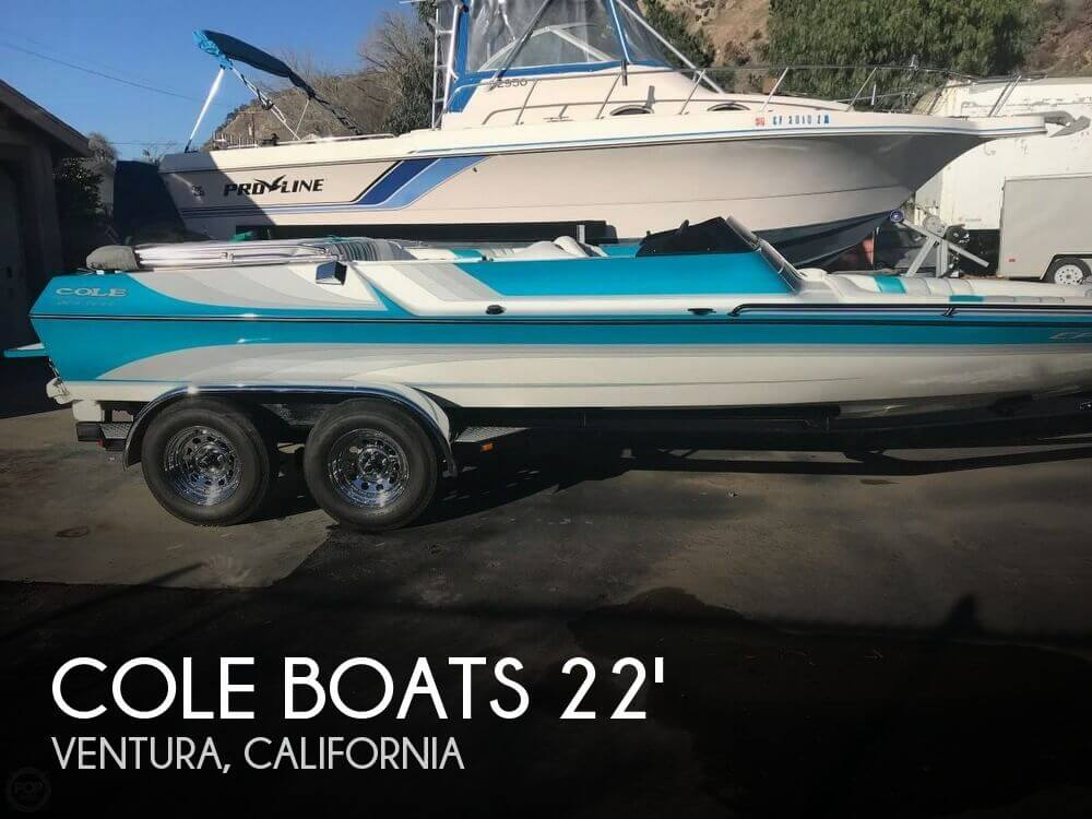 Used Boats For Sale in Santa Maria, California by owner | 1995 Cole Boats 22