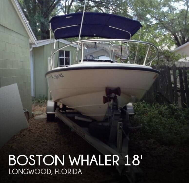 Used Boston Whaler 18 Boats For Sale by owner | 2003 Boston Whaler 18