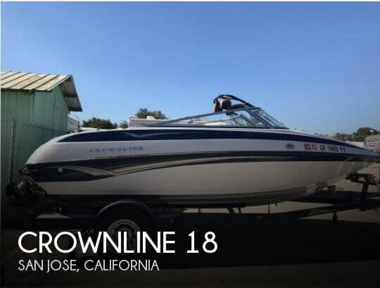 Used Boats For Sale in Salinas, California by owner | 2003 Crownline 18