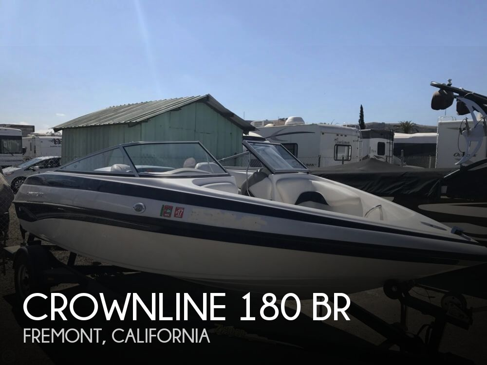2003 Crownline boat for sale, model of the boat is 180 BR & Image # 1 of 41