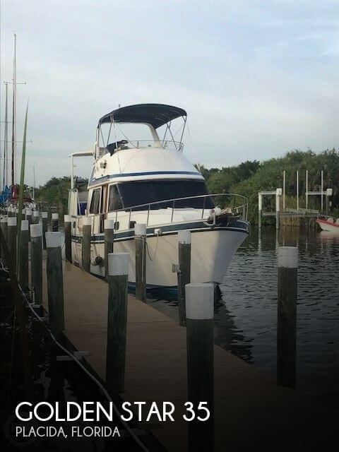 Used Golden Star Boats For Sale by owner | 1987 Golden Star 35