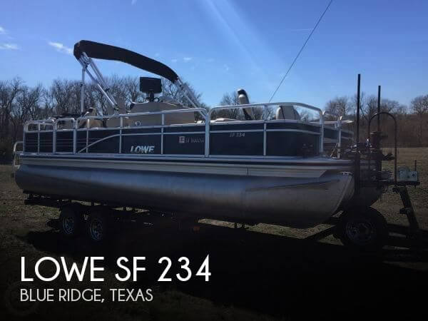Used Pontoon Boats For Sale in Texas by owner | 2015 Lowe 22