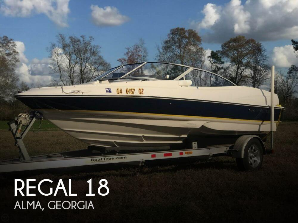 Used Regal Boats For Sale in Georgia by owner | 2005 Regal 18