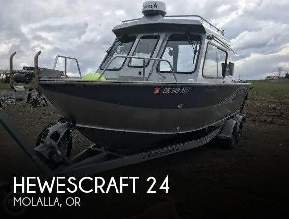 Used Boats For Sale in Portland, Oregon by owner | 2014 Hewescraft 24