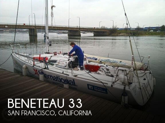 Used Sailboats For Sale in California by owner | 2004 Beneteau 33