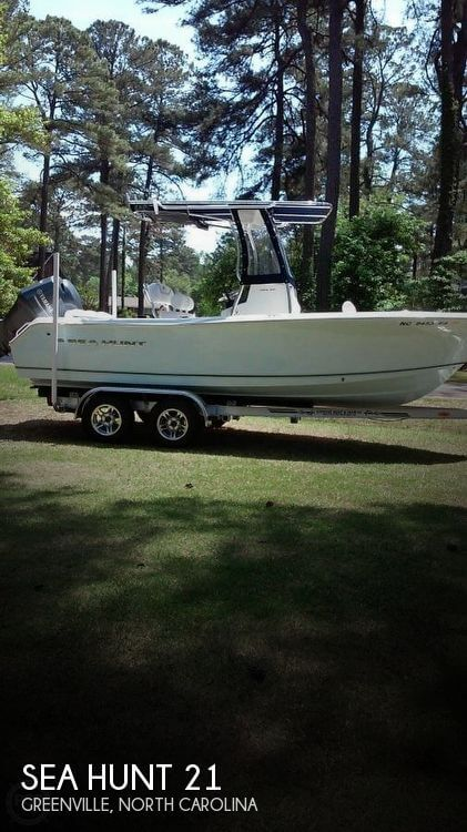 Used Boats For Sale in Raleigh, North Carolina by owner | 2015 Sea Hunt 21