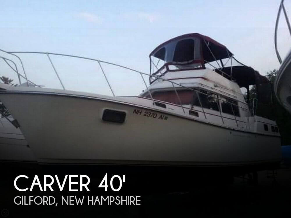 Used Carver 40 Boats For Sale by owner | 1981 Carver 40