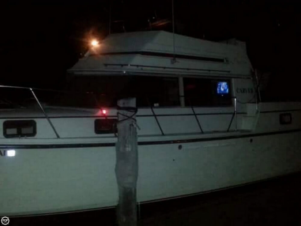 1981 Carver boat for sale, model of the boat is 3607 Aft Cabin & Image # 8 of 40