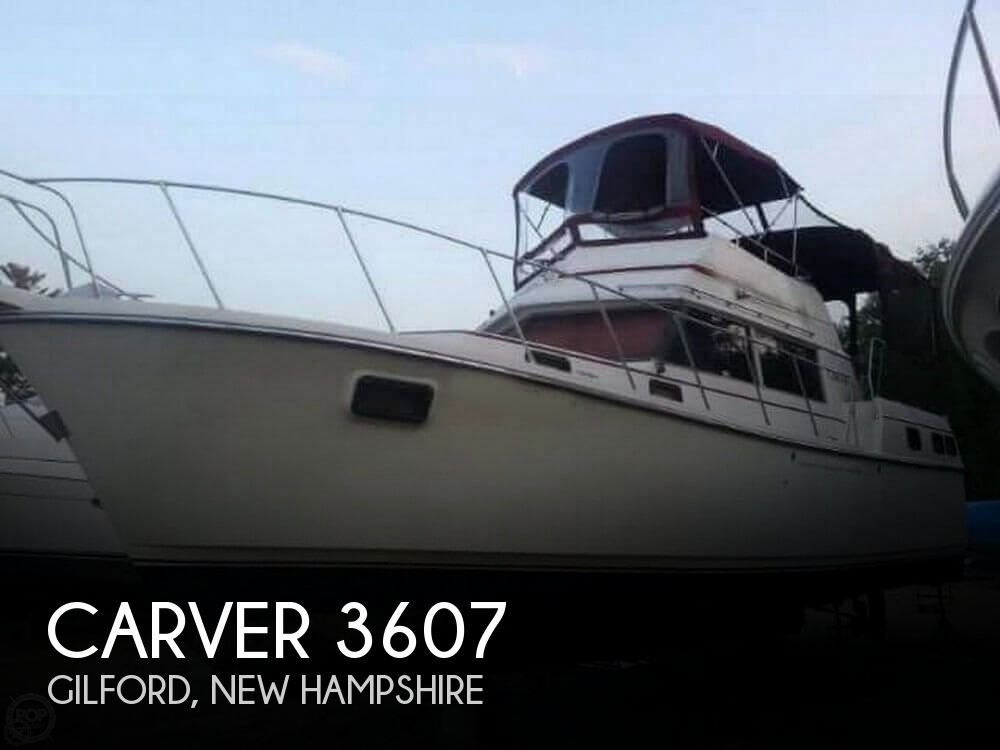 1981 Carver boat for sale, model of the boat is 3607 Aft Cabin & Image # 1 of 40