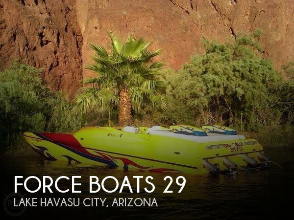 Used 29 Boats For Sale by owner | 2004 Force Boats 29