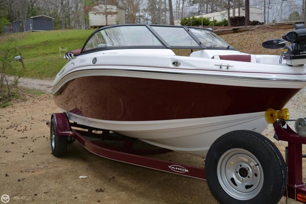 2018 Tahoe boat for sale, model of the boat is 550TF & Image # 5 of 41