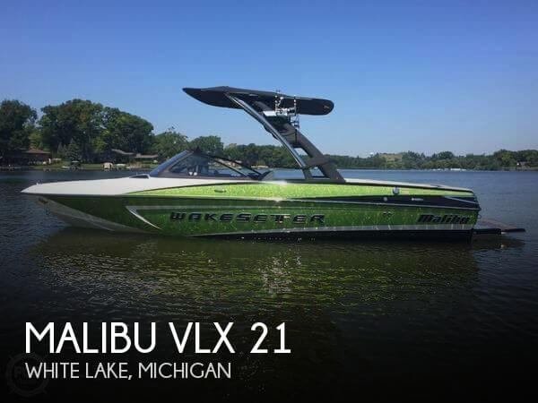 Used Boats For Sale in Michigan by owner | 2014 Malibu 21
