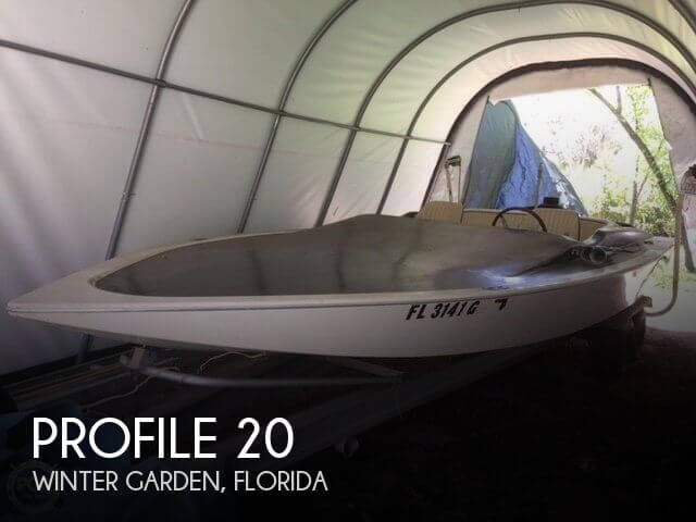 Used Profile Boats For Sale by owner | 1973 Profile 20