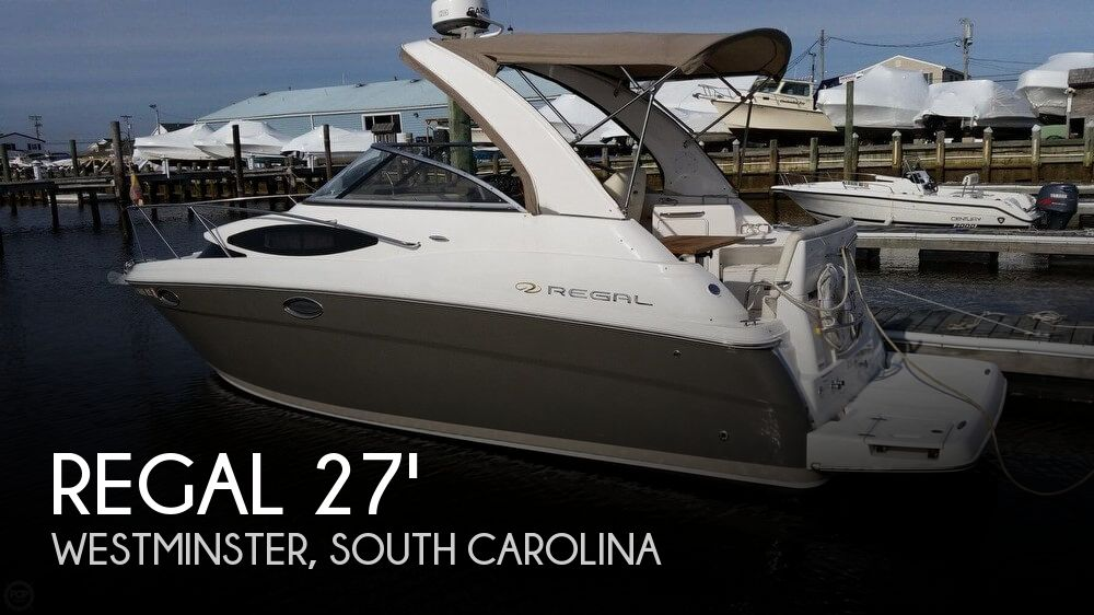 Used Boats For Sale in Greenville, South Carolina by owner | 2011 Regal 27