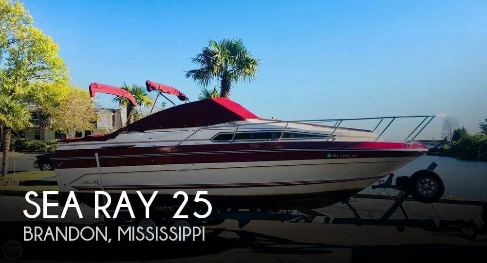 Used Sea Ray 25 Boats For Sale by owner   1987 Sea Ray 25