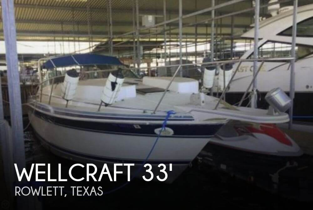 Used Wellcraft 33 Boats For Sale by owner   1989 Wellcraft 33