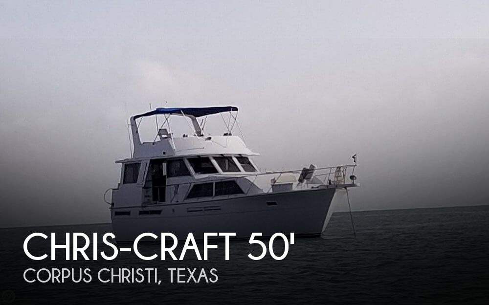 Used Boats For Sale in Corpus Christi, Texas by owner | 1985 Chris-Craft 50
