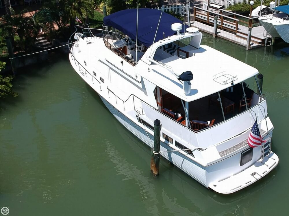 1987 Marine Trader boat for sale, model of the boat is 47 & Image # 2 of 28
