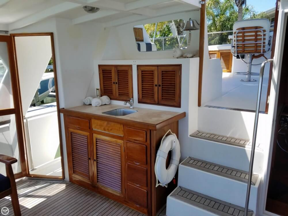 1987 Marine Trader boat for sale, model of the boat is 47 & Image # 4 of 28