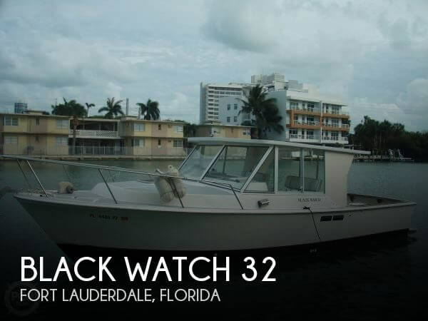Used Black Watch Boats For Sale by owner | 1986 Black Watch 32
