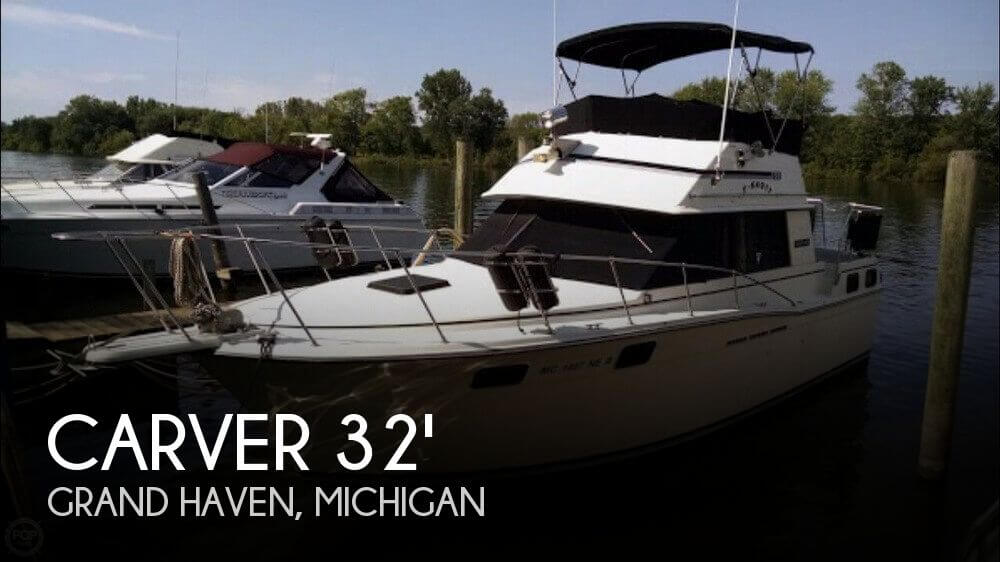 Used Carver 32 Boats For Sale by owner | 1984 Carver 32