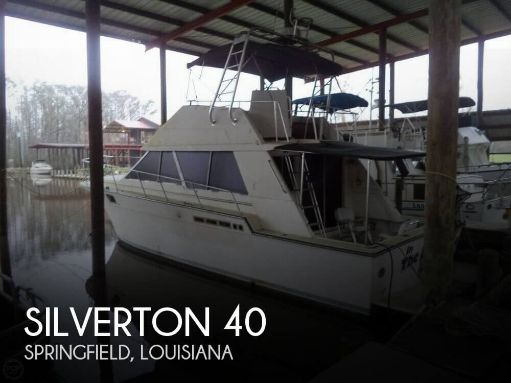 Used Fishing boats For Sale in Louisiana by owner | 1989 Silverton 39