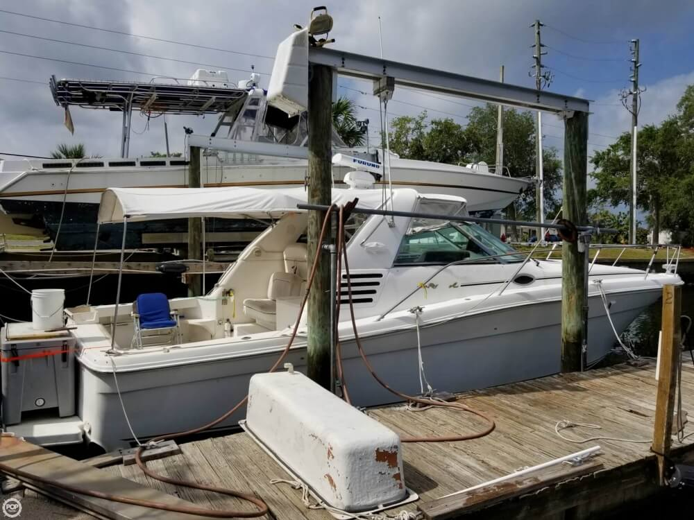 1997 Sea Ray boat for sale, model of the boat is 370 EC & Image # 2 of 40