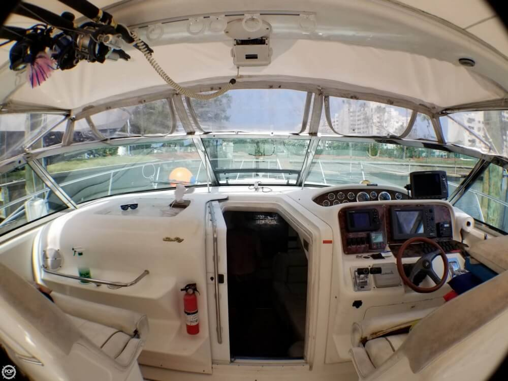 1997 Sea Ray boat for sale, model of the boat is 370 EC & Image # 5 of 40