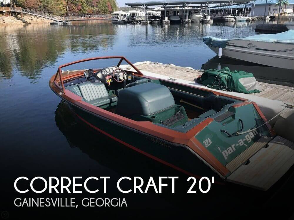 Used Power boats For Sale in Georgia by owner | 1997 Correct Craft 20