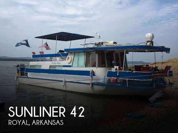 Used Houseboats For Sale in Arkansas by owner | 1969 Sunliner 42