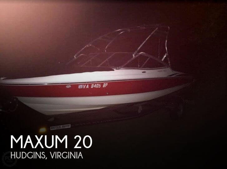 Used Maxum Ski Boats For Sale by owner | 2008 Maxum 20