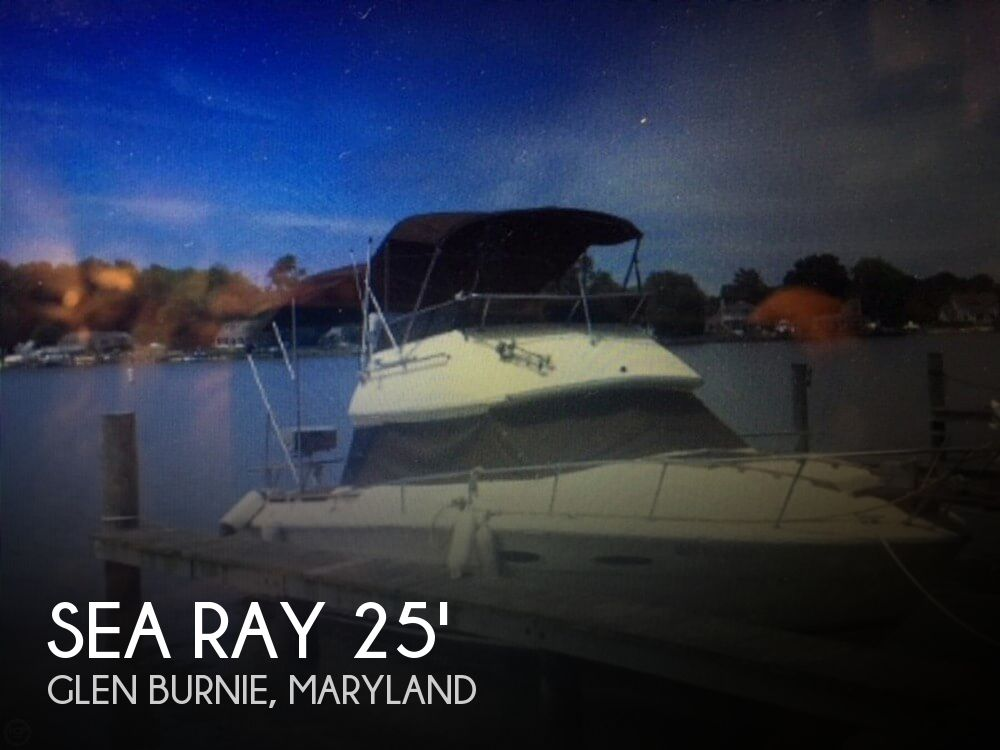 Used Fishing boats For Sale in Maryland by owner | 1983 Sea Ray 25
