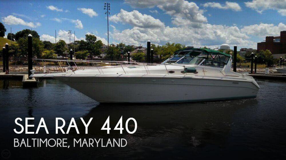 Used Boats For Sale in Hagerstown, Maryland by owner | 1995 Sea Ray 44