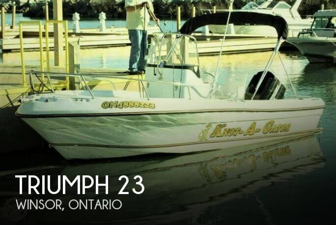 Used Triumph Boats For Sale by owner | 2001 Triumph 23