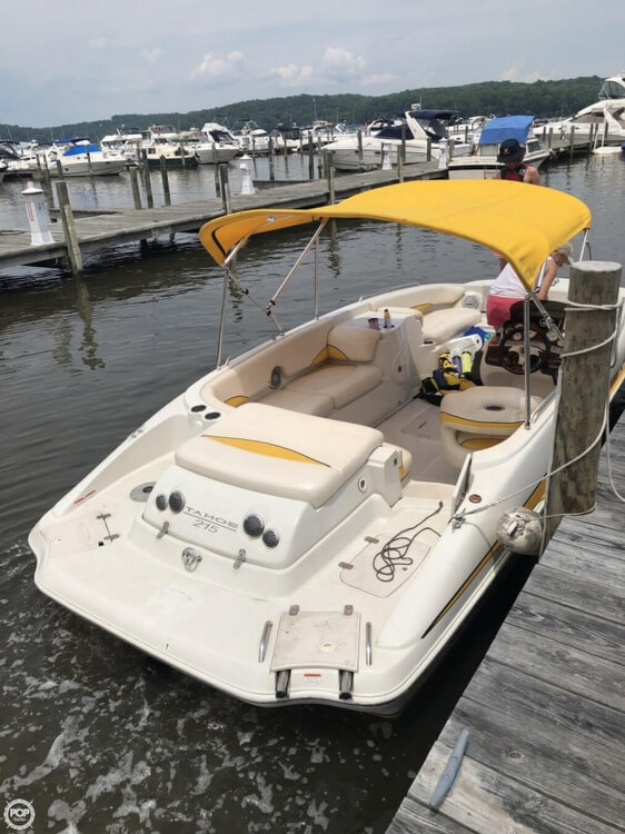 2013 Tahoe boat for sale, model of the boat is 215XI & Image # 3 of 39