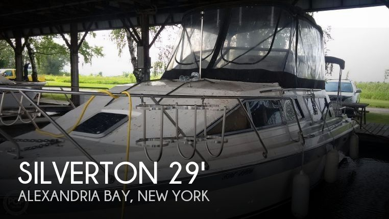 Used Boats For Sale by owner   1987 Silverton 29
