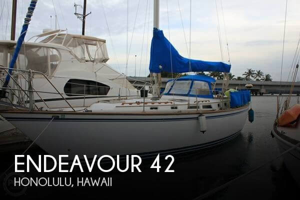 Used Boats For Sale in Hawaii by owner | 1989 Endeavour 42