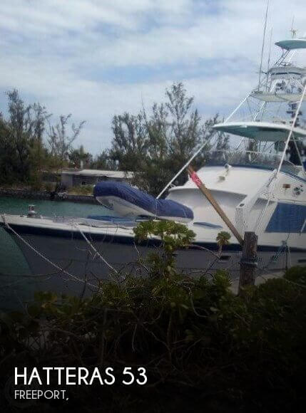 Used Boats For Sale in Bahamas by owner | 1976 Hatteras 53
