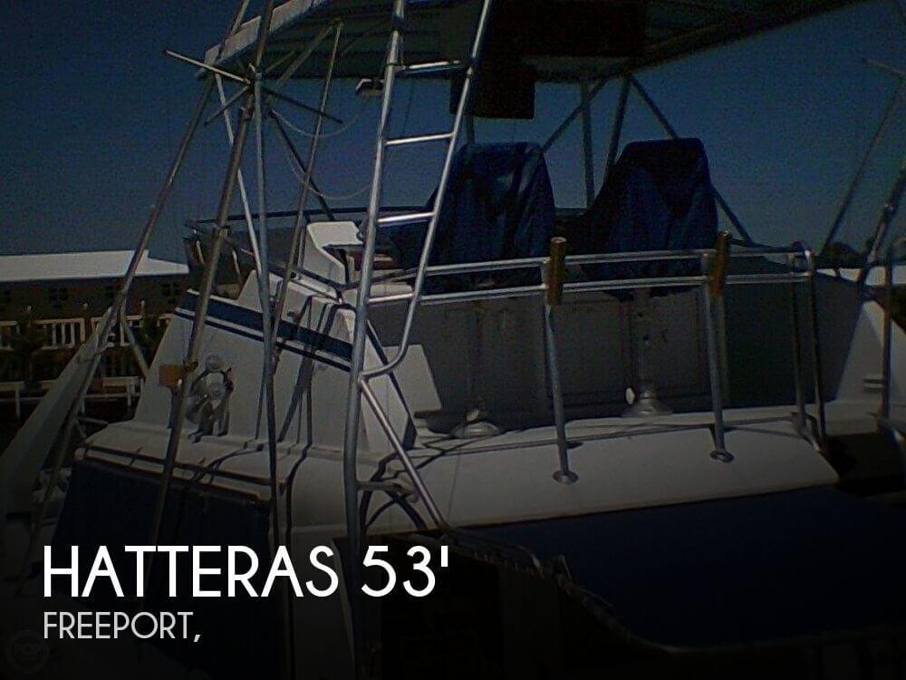 1976 Hatteras 53 Convertible