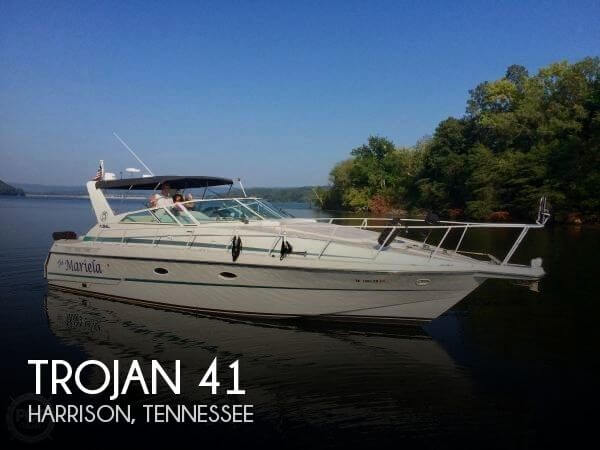 Used Boats For Sale in Chattanooga, Tennessee by owner | 1992 Trojan 41