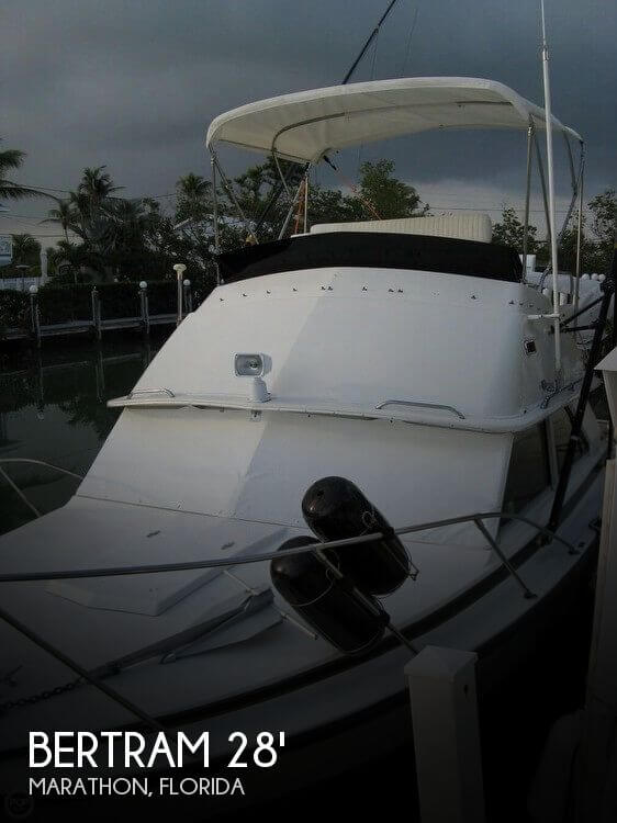Used BERTRAM Fishing boats For Sale in Florida by owner   1977 Bertram 28