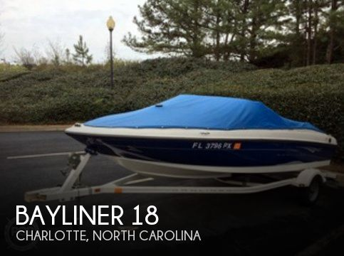 Used Bayliner Boats For Sale in North Carolina by owner | 2010 Bayliner 18