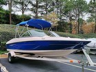Bayliner 175 On Trailer With Bimini