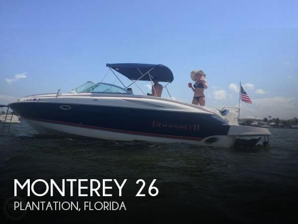 2002 Monterey 26 For Sale By POP Yachts
